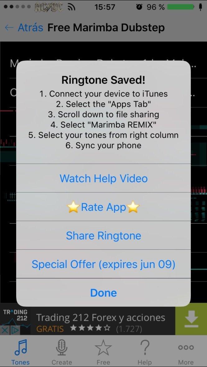 Marimba Remixed Ringtones - Download for iPhone Free