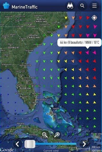 marine traffic gratis app