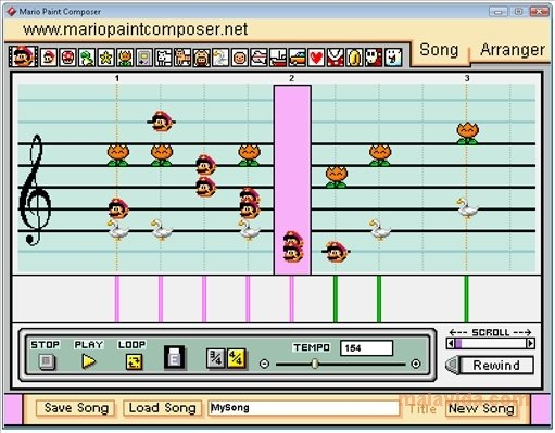 Mario Paint Composer image 3