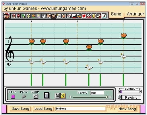 Mario Paint Composer 2 0 - Download for PC Free