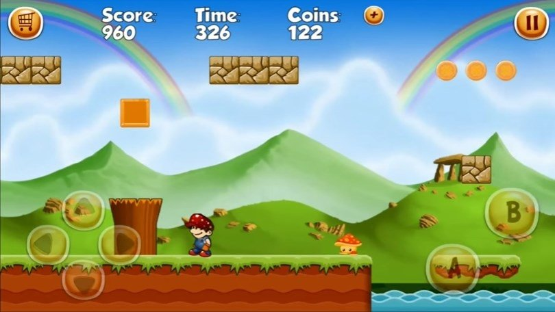 Mario's World Android image 5