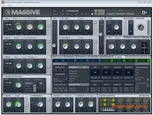 fl studio massive plugin free download