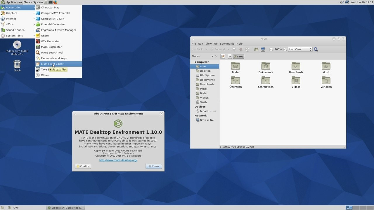 MATE Linux image 8