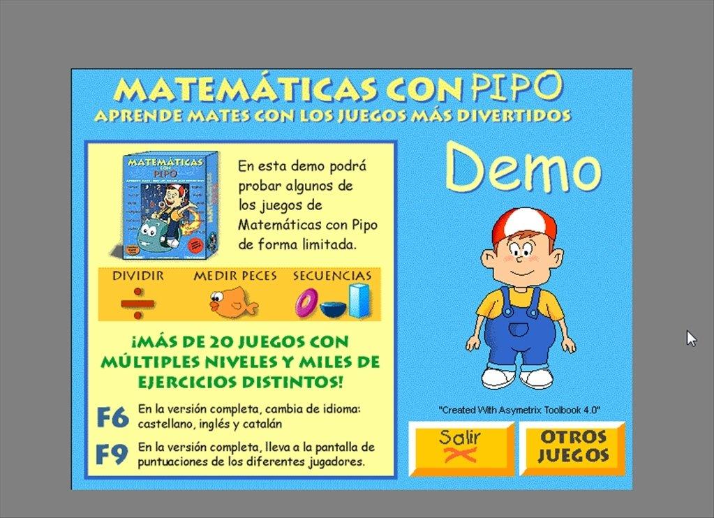 Matematicas Con Pipo Descargar Para Pc Gratis