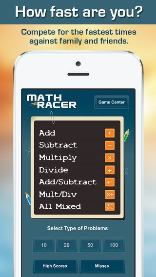 Math Racer iPhone image 4