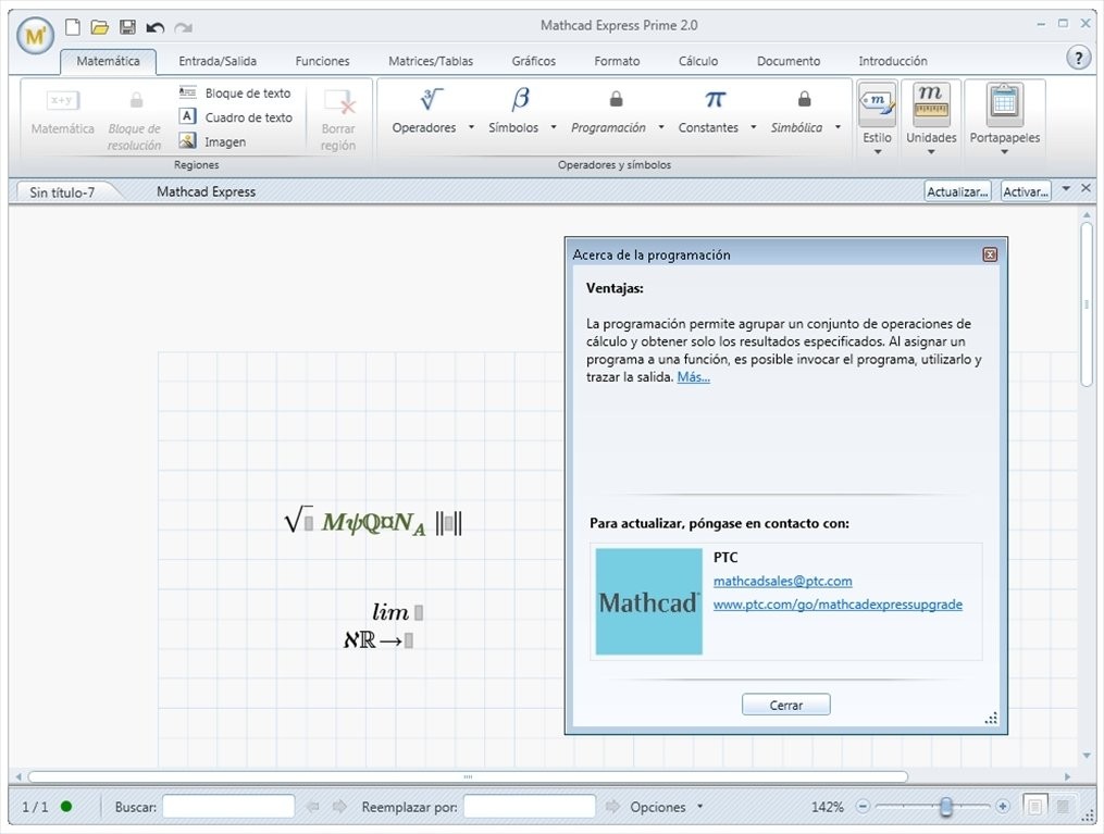 logiciel mathcad gratuit