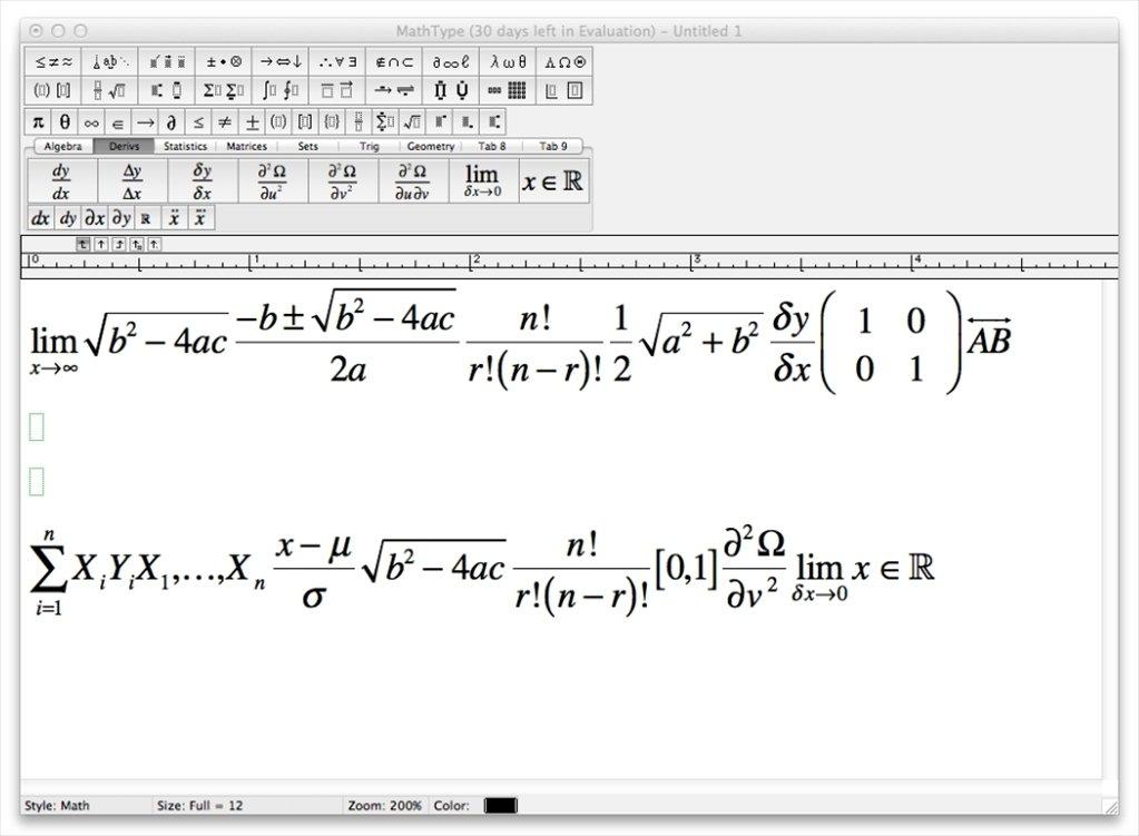 Free Download Mathtype 5.2