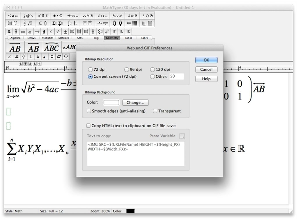 mathtype 6.7
