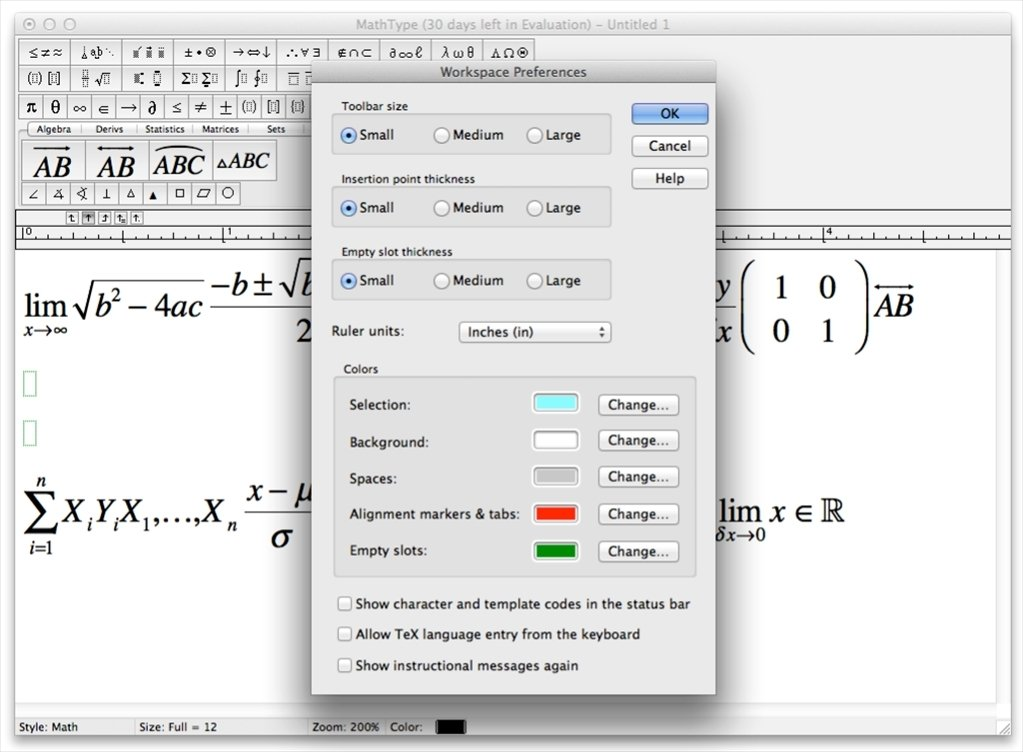 MathType 7 4 2 - Download for Mac Free