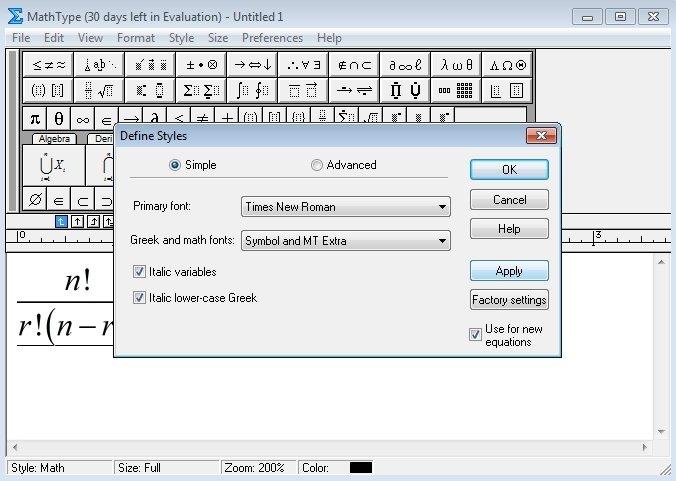 mathtype 6.0 equation free download