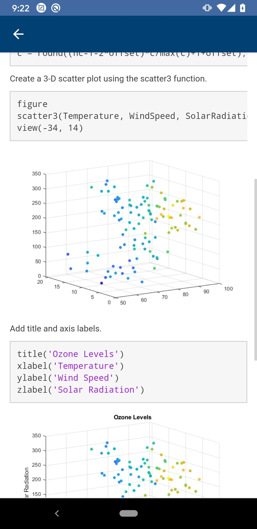 MATLAB Mobile Android image 5