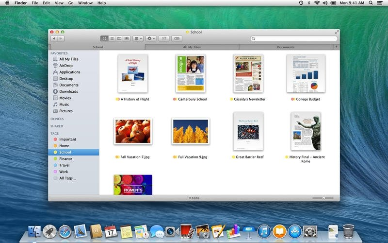 mac os mavericks download free