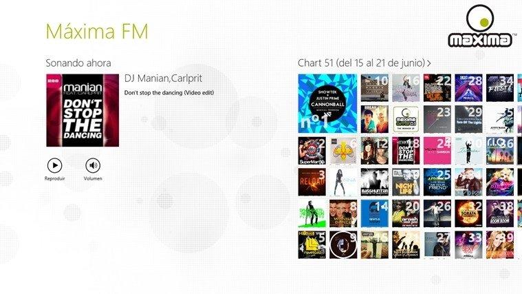 descargar lista 51 chart maxima fm culiacan