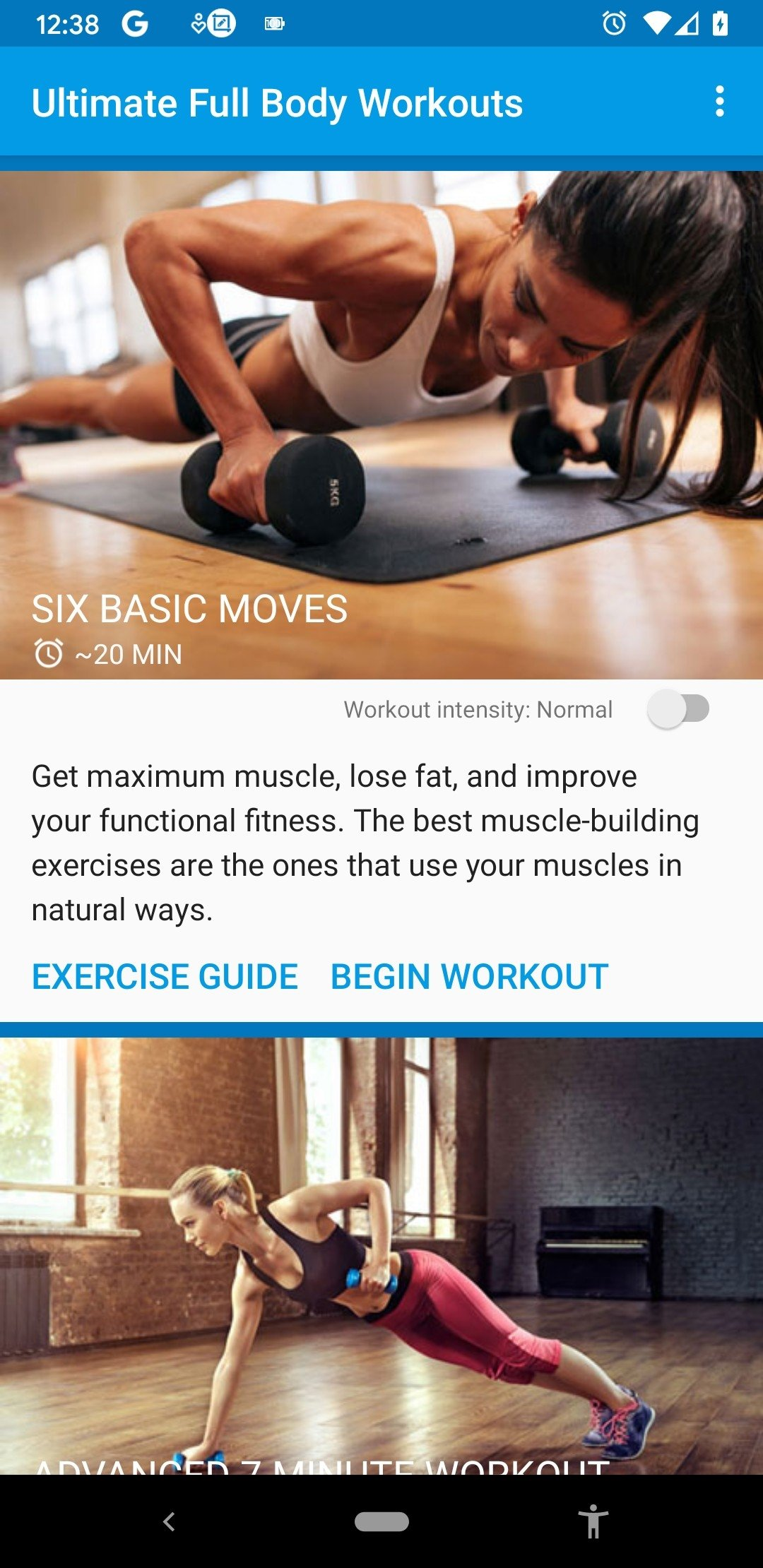 Ultimate Full Body Workouts Android image 7