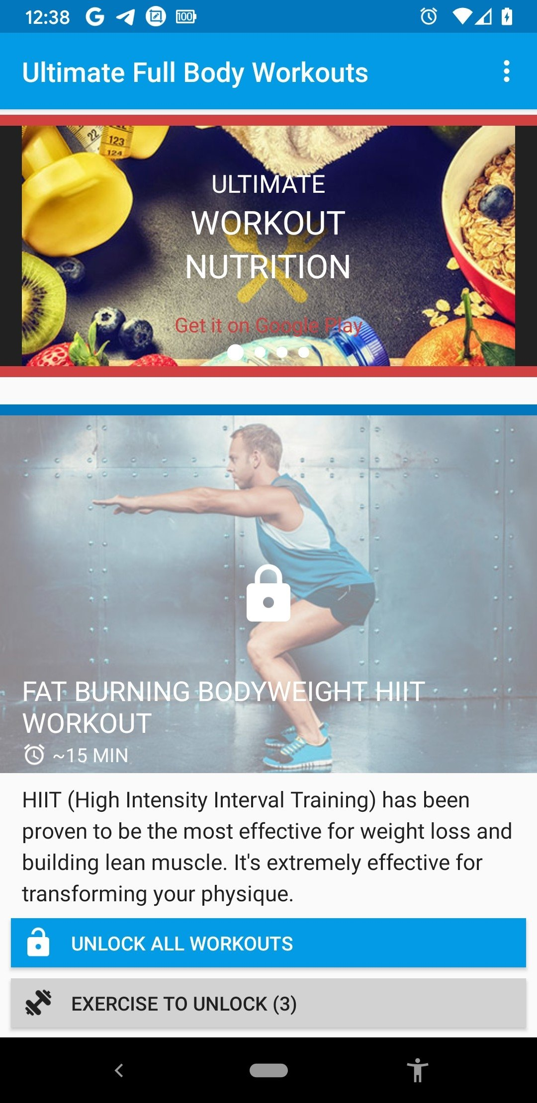 Ultimate Full Body Workouts 1 23 - Download for Android APK Free
