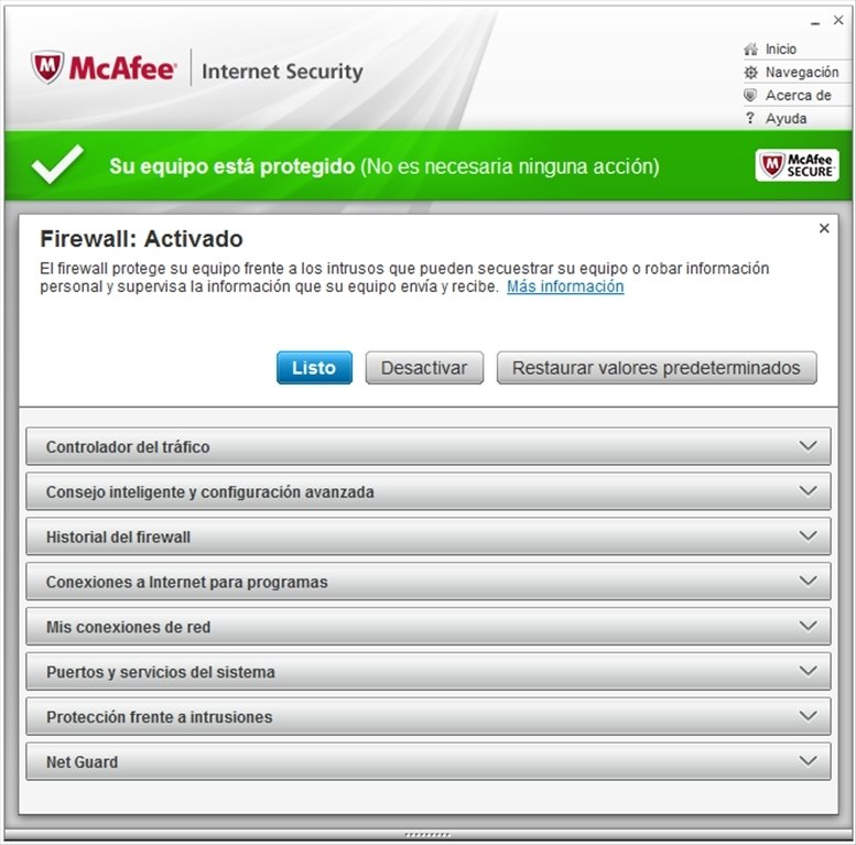 McAfee Internet Security 2011 Full k ������� ��������� ��� ...