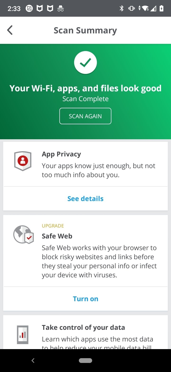 McAfee Mobile Security 5 2 0 286 - Download for Android APK Free