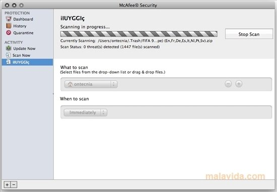 download mcafee update