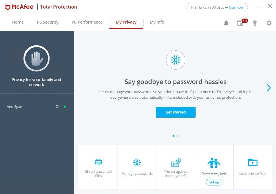 McAfee Total Protection 16 0 R12 - Download for PC Free