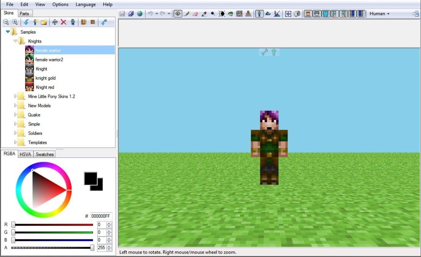 Сделать скины для майнкрафт 1.7.2