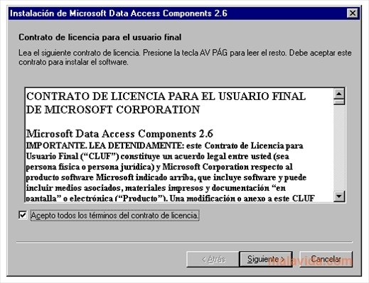 Microsoft Data Access Components (MDAC) Windows 8 Drivers Download (2019)