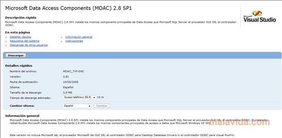 MDAC 2.8 SP1 image 5