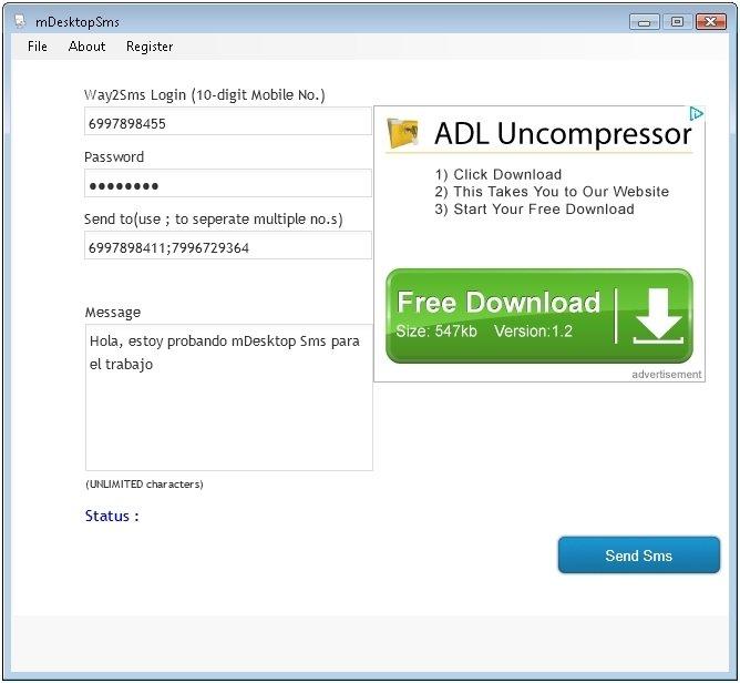 mDesktopSms 3 0 - Download for PC Free