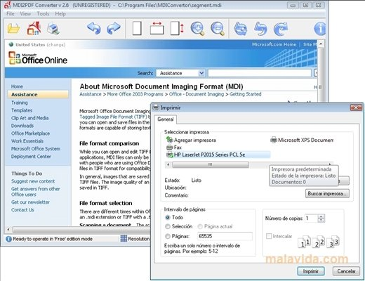 logiciel mdi gratuit