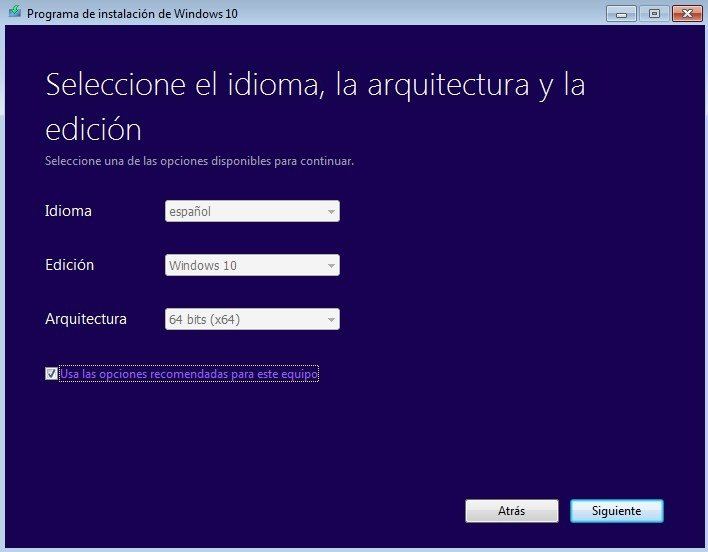 The Media Creation Tool is a program provided by Microsoft which will download  all required files,...
