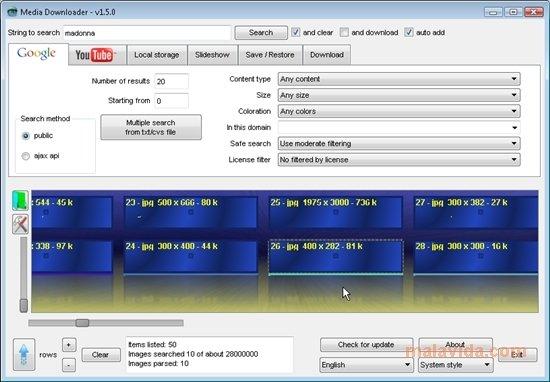 Media downloader 1. 5. 2 download for pc free.
