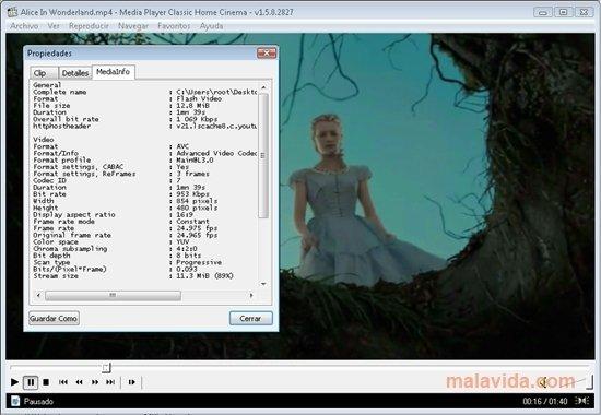 Media Player Classic Homecinema image 4