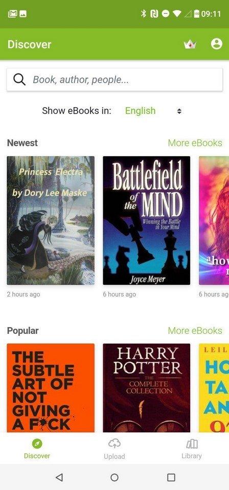 Media365 Book Reader 4.10.1765 - Descargar para Android
