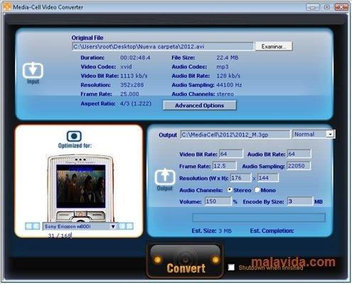 MediaCell Video Converter image 3