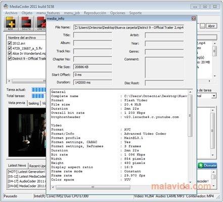 mediacoder gratuit