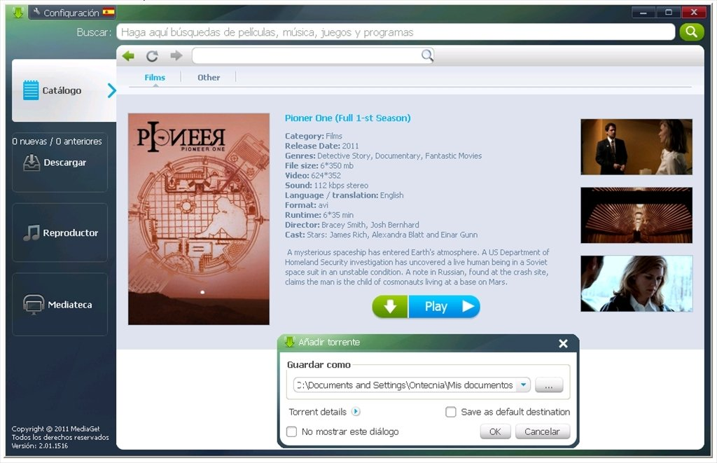 mediaget gratuit pour windows 7