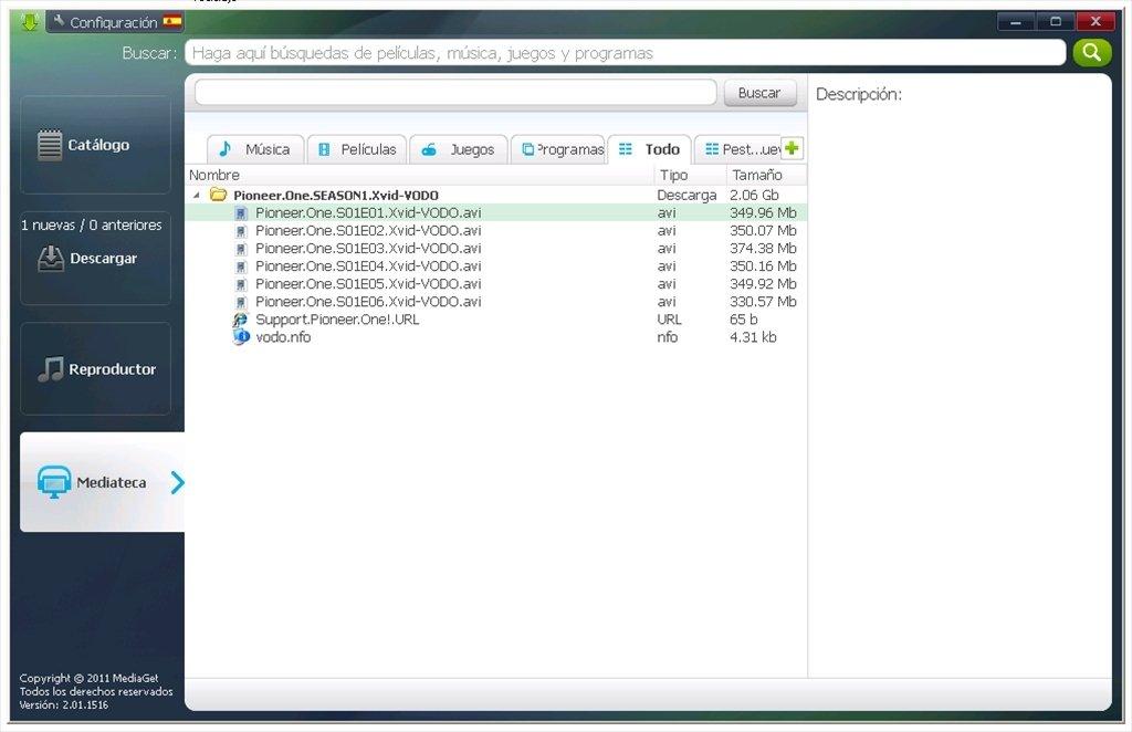 logiciel mediaget gratuit