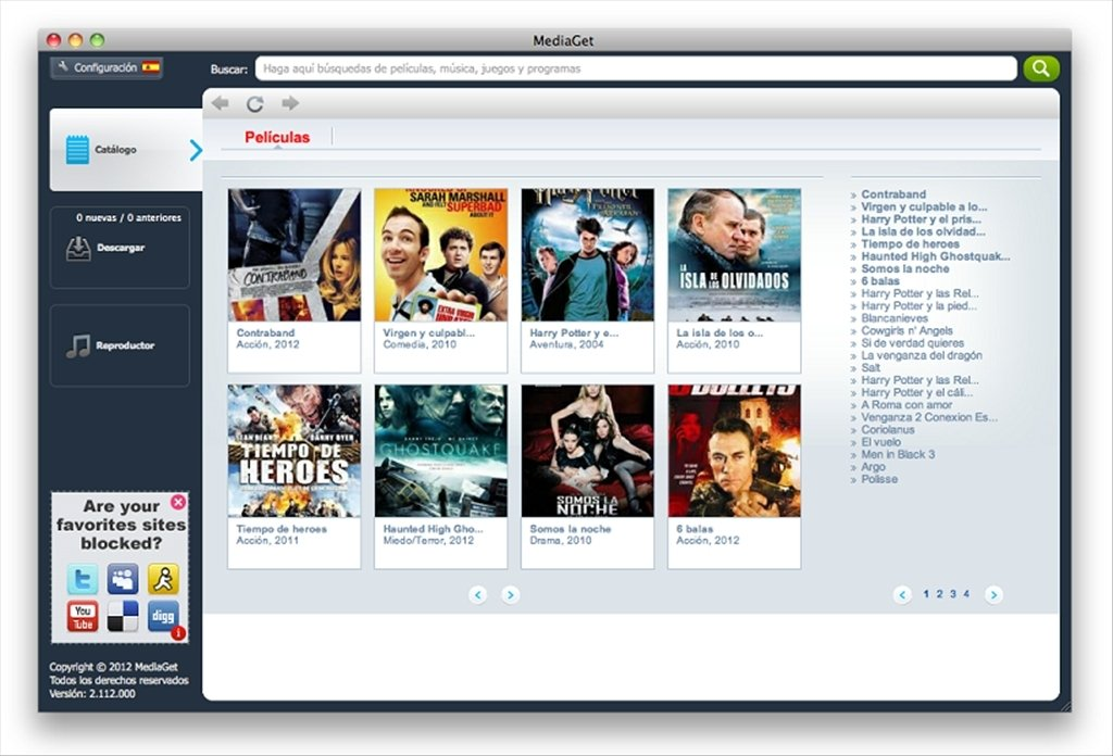 MediaGet 2 01 3790 - Download for Mac Free