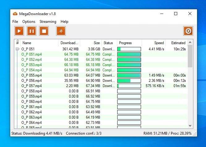 MegaDownloader 1 7 - Descargar para PC Gratis