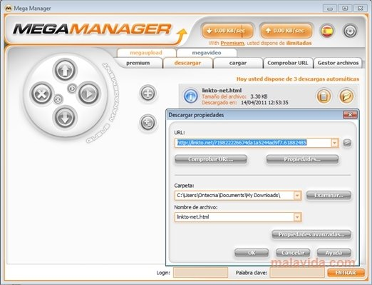 Megamanager 3.4.0.9