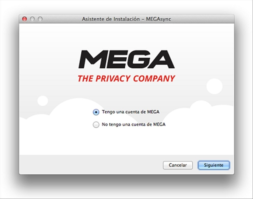 Resultado de imagen para MEGASync para mac