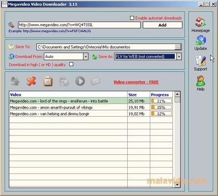 Megavideo Video Downloader image 3
