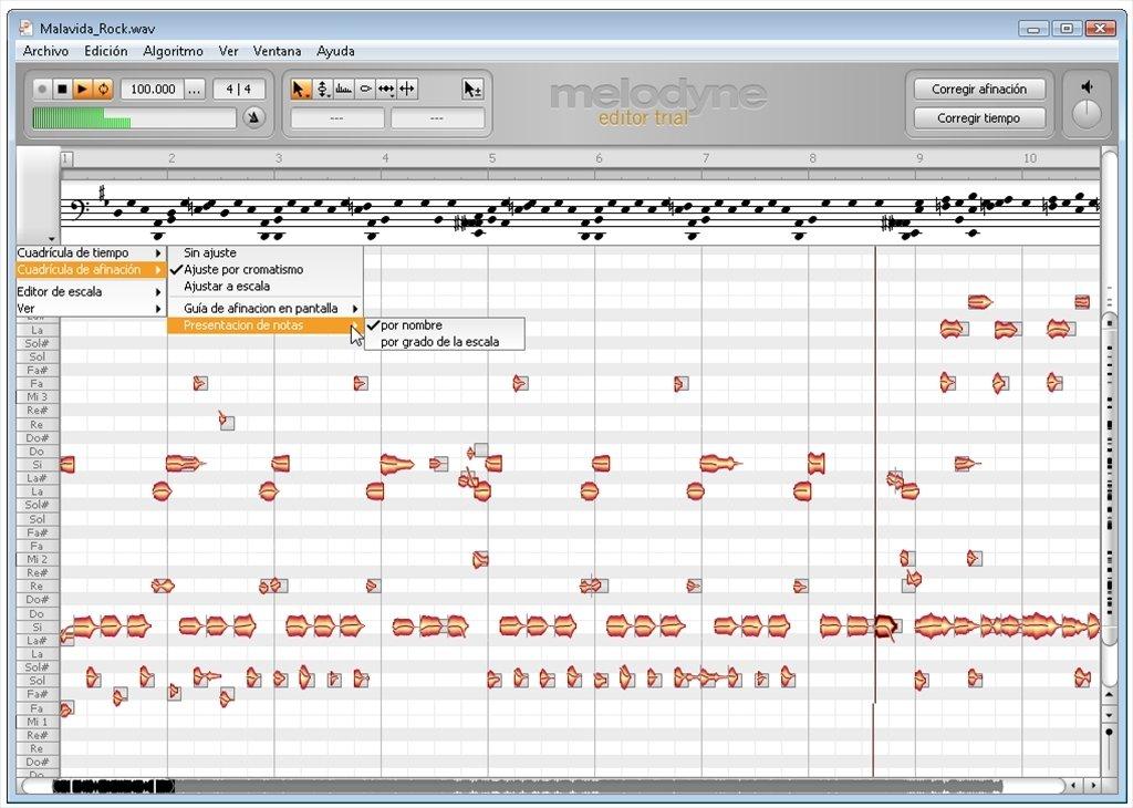 Melodyne 2.1.2 Editor
