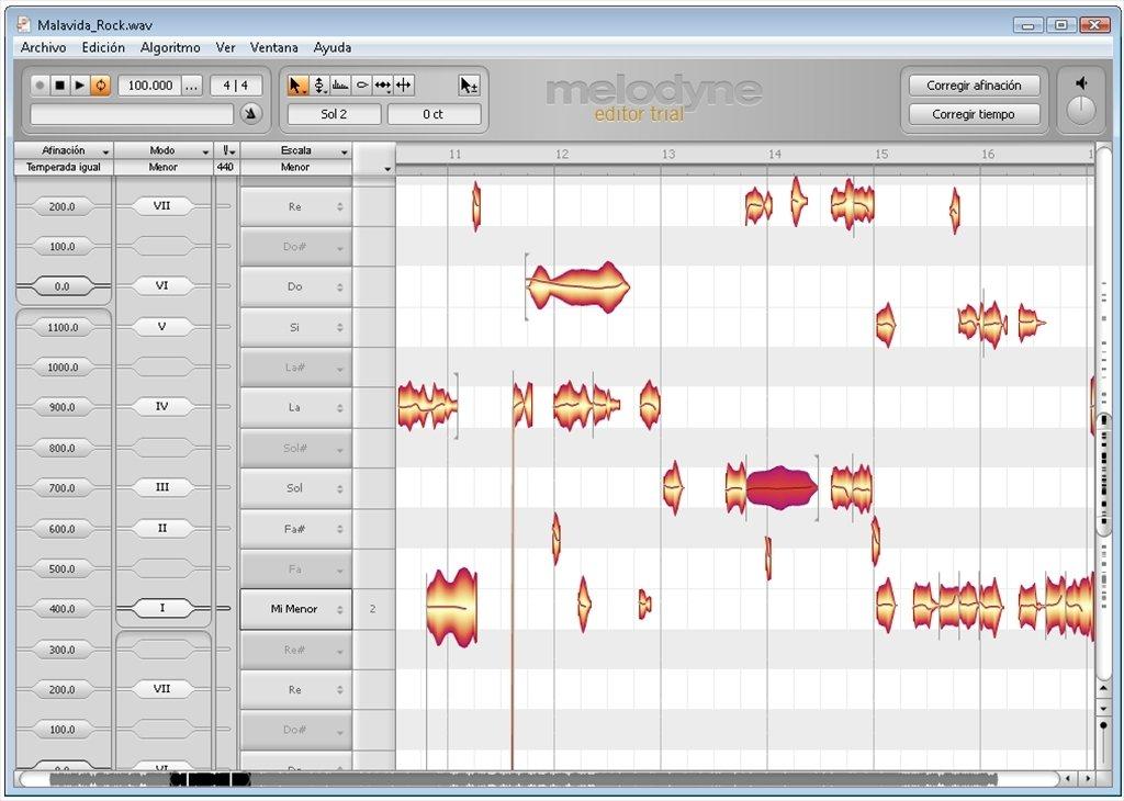 Download Melodyne 2.1.2 Editor - Gratis
