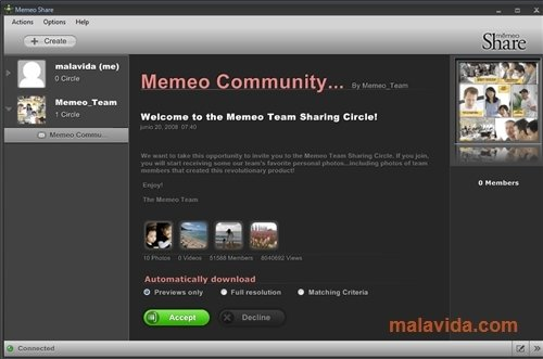 Memeo Share image 4