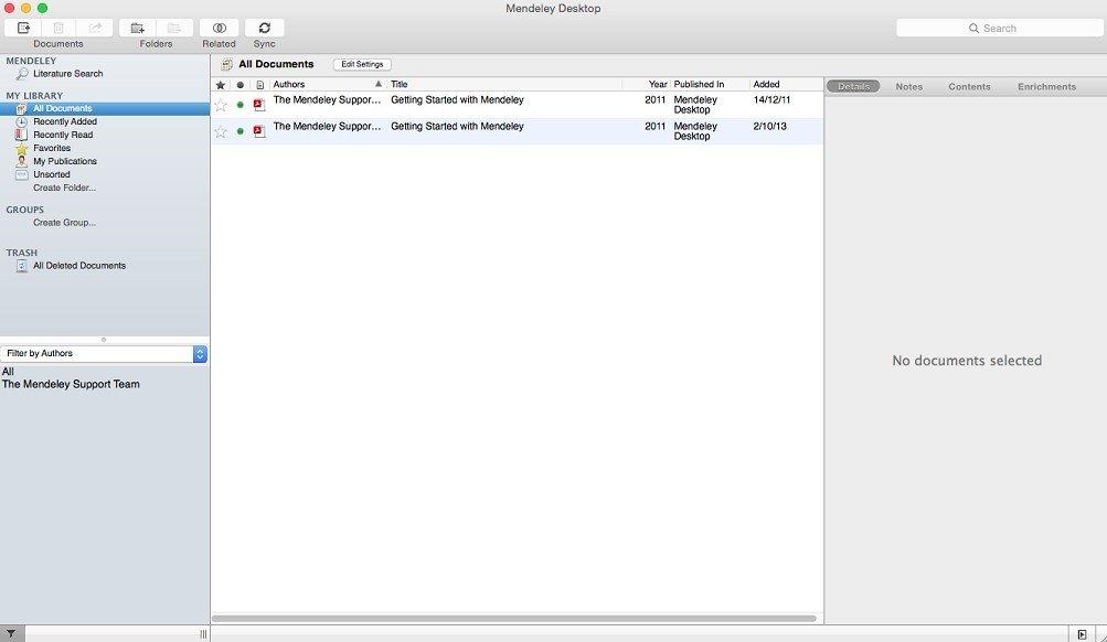 Mendeley Desktop 1 19 2 - Download for Mac Free