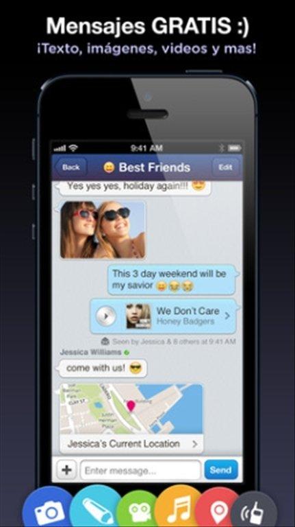 MessageMe iPhone image 5