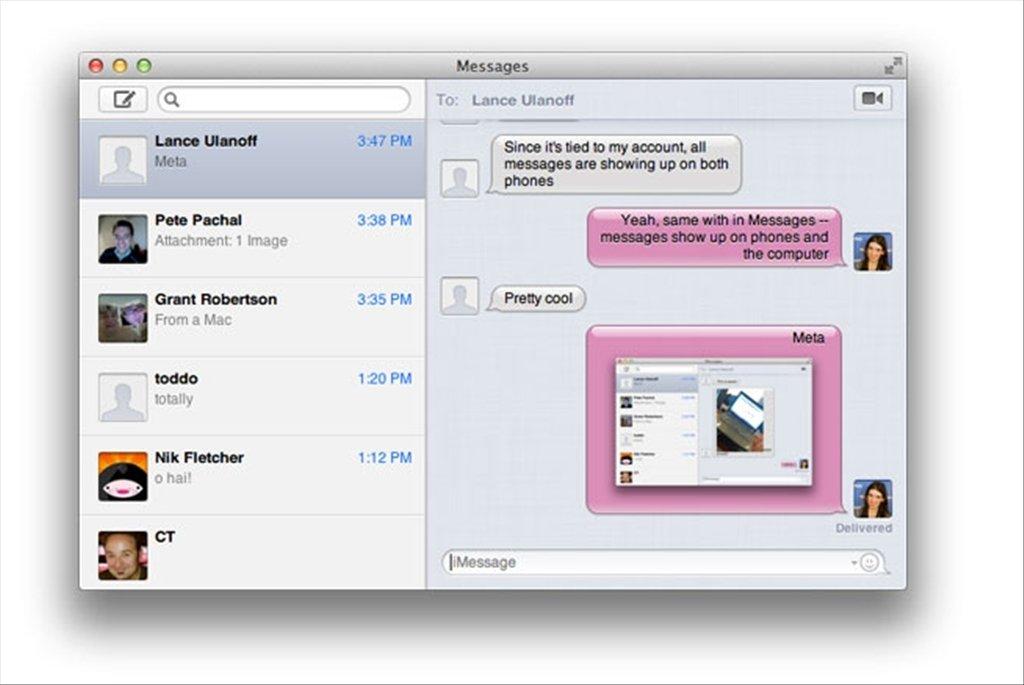 Messages Mac image 3