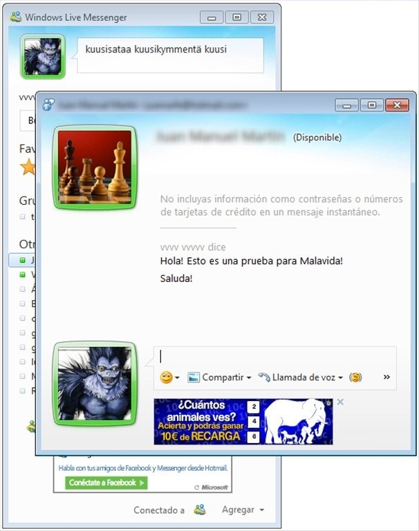 windows live messenger  2012 english
