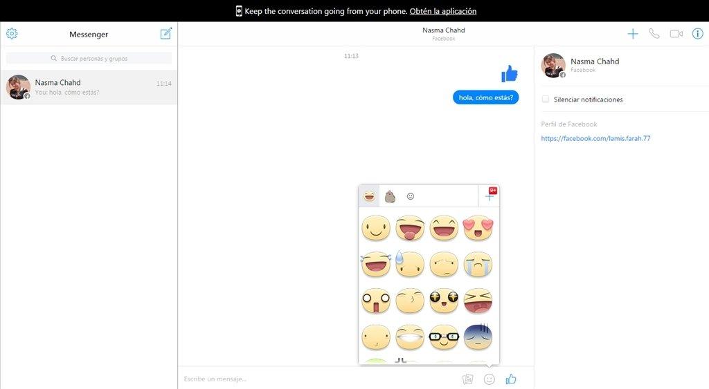 Messenger Webapps image 4