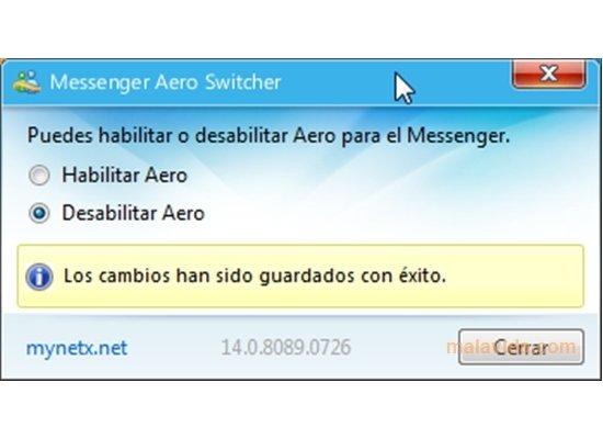 Messenger Aero Switcher image 4